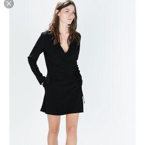 NWT Zara Shorts Sarong Jumpsuit Wrap Dress Romper